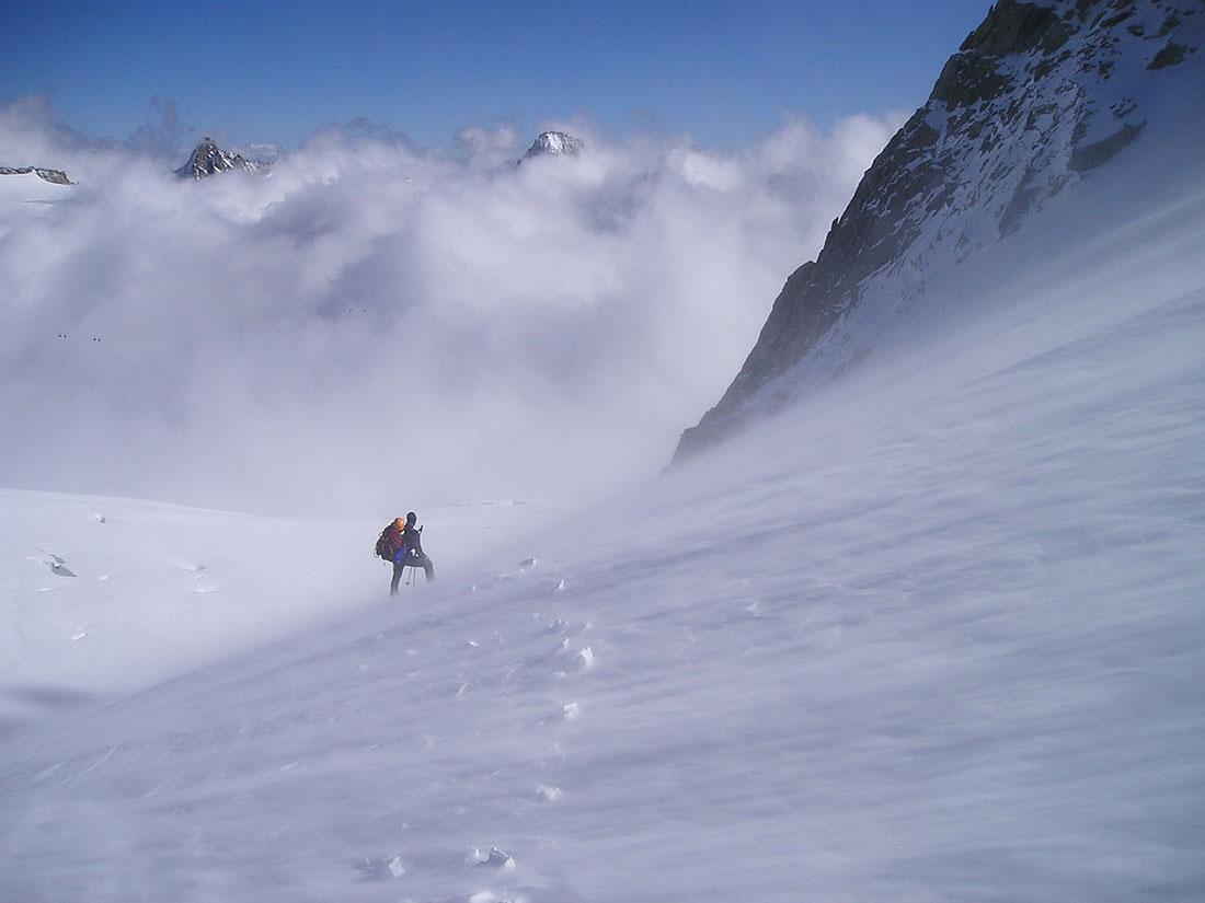 sibirisk snöstorm